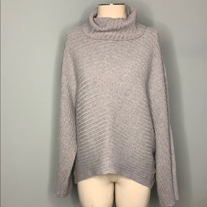 Anthropology Moth Cowl Neck Sweater